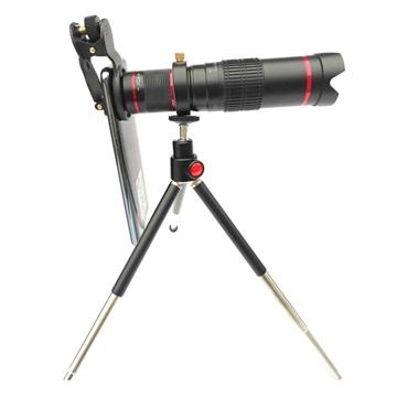 4K Universell 22X Optisk Zoom Teleskop Kameralins med Tripod