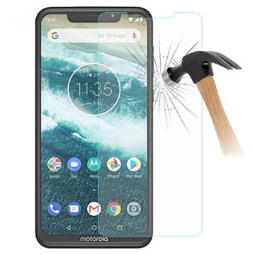 Motorola One Power Arc Edge Härdat Glas Skärmskydd - Kristallklar