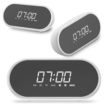 Baseus Encok Bluetooth Högtalare och Väckarklocka - Vit