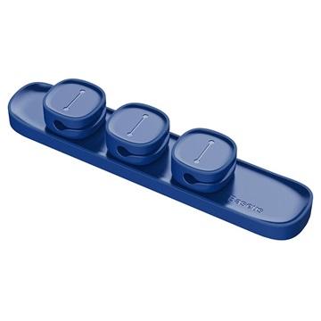 Baseus Peas Magnetisk Kabel Organizer / Hållare - Blå