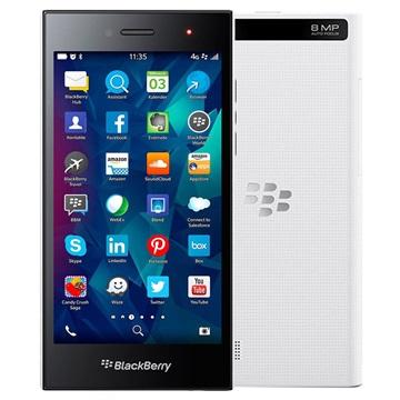 BlackBerry Leap - 16GB - Fabriksrenoverad - Vit