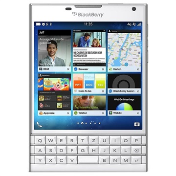 BlackBerry Passport- 32GB (Öppen Box - God) - Vit