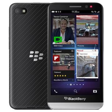 BlackBerry Z30 - 16GB - Fabriksrenoverad - Svart