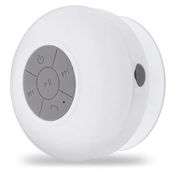Forever BS-330 Vattentätt Bärbar Bluetooth Högtalare - Vit