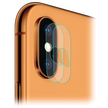 Hat Prince iPhone XS Max Kameralins Härdat Glasskydd - 2 St.