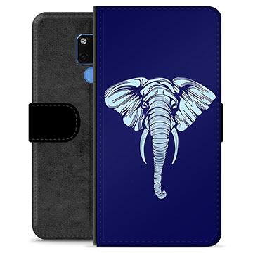 Huawei Mate 20 Premium Plånboksfodral - Elefant