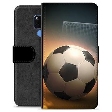 Huawei Mate 20 Premium Plånboksfodral - Fotboll