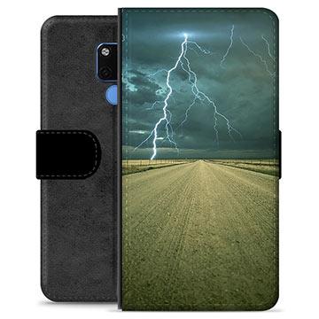 Huawei Mate 20 Premium Plånboksfodral - Storm