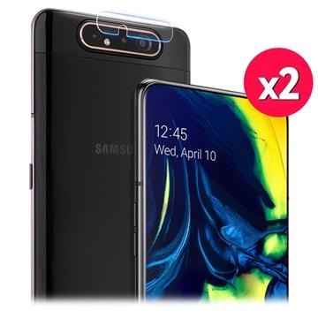 Imak HD Samsung Galaxy A80 Kameralins Härdat Glasskydd - 2 St.