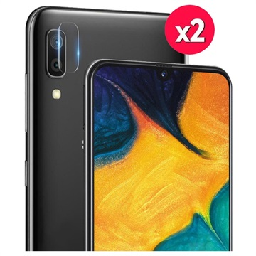 Imak HD Samsung Galaxy A40 Kameralins Härdat Glasskydd - 2 St.