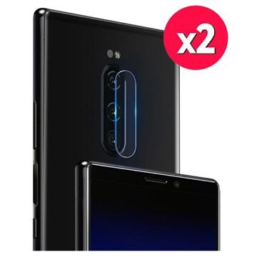 Imak HD Sony Xperia 1 Kameralins Härdat Glasskydd - 2 St.
