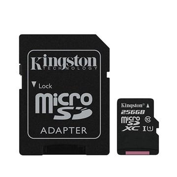 Kingston Canvas Select MicroSDXC Minneskort SDCS/256GB - 256GB