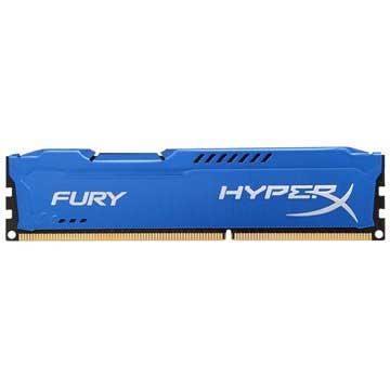 Kingston HX316C10F/4 HyperX Fury DDR3 RAM-minne - 4GB - Blå