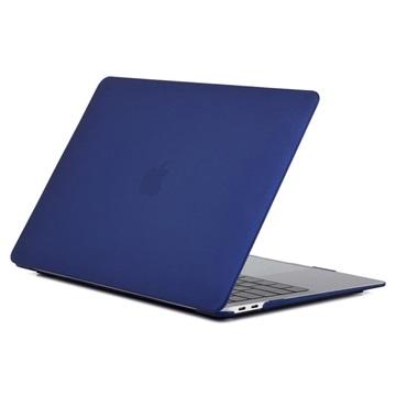 MacBook Air 13.3 2018 A1932 Matt Plastskal - Mörkblå