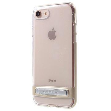 iPhone 7   iPhone 8 Mercury Dream Stand Bumper Skal - Guld   Genomskin 17e9d9874fca6