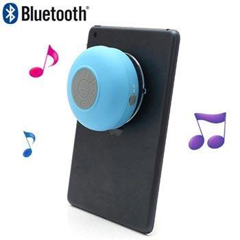 Bärbar Vattentålig Bluetooth Minihögtalare BTS-06 - Blå
