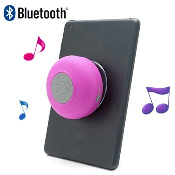 Mini Bärbar Vattentålig Bluetooth Högtalare BTS-06 - Varmrosa