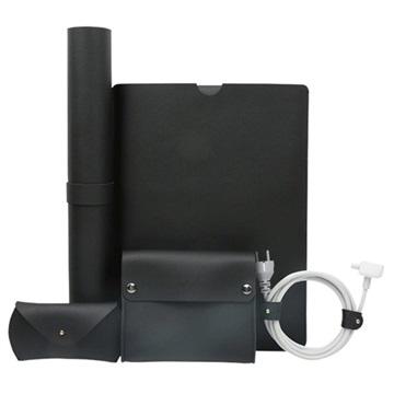 Multifunktionellt 5-i-1 MacBook Pro 15.4 Set - Svart