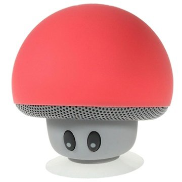 Svampformad Bluetooth Högtalare - Röd