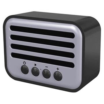NewRixing NR-102 Retro Bluetooth Högtalare - 5W - Svart