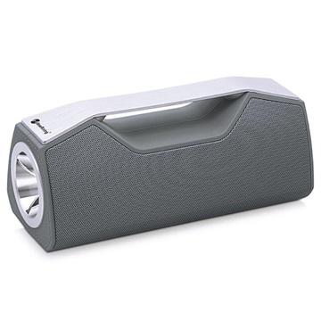 NewRixing NR2028 Utomhus Bluetooth Högtalare / Ficklampa - Grå