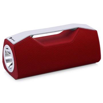 NewRixing NR2028 Utomhus Bluetooth Högtalare / Ficklampa - Röd