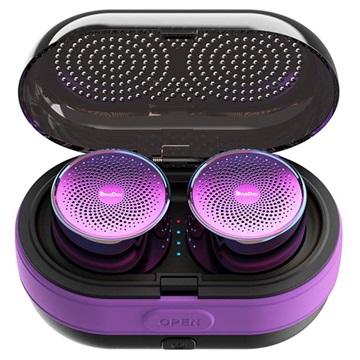 OneDer V17 Mini Bärbar Bluetooth Högtalare - Lila