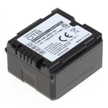 Panasonic VW-VBG130 Videokamera OTB Batteri - 1100mAh