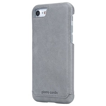 iPhone 7   iPhone 8 Pierre Cardin Läder Belagd Skal - Grå 4a70a357b0fc1