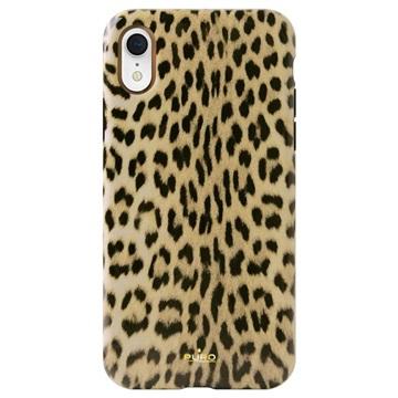 Puro Leopard Anti-Shock iPhone XR Skal - Svart   Leopard 793ab9a2d0126