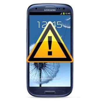 Samsung Galaxy S3 i9300 SIM-kort och Minneskortläsare Reparation