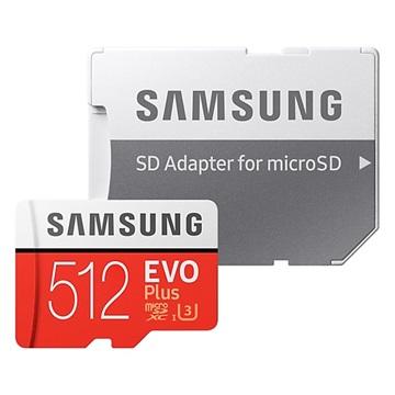 Samsung Evo Plus MicroSDXC Minneskort MB-MC512GA/EU - 512GB