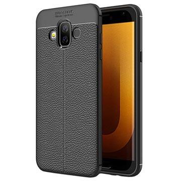 Slim-Fit Premium Samsung Galaxy J7 Duo TPU-skal - Svart
