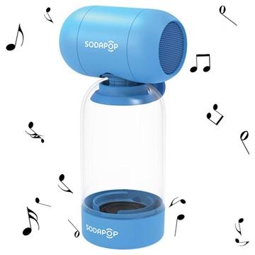 Sodapop Bass Bottle Bluetooth Högtalare - Blå