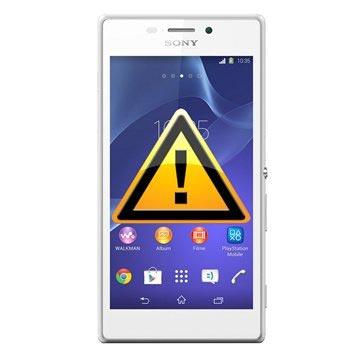 Sony Xperia M2 dual SIM-kort och Minneskortläsare Reparation