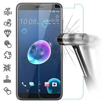 HTC Desire 12 Härdat Glas Skärmskydd - 9H, 0.3mm, 2.5D - Klar