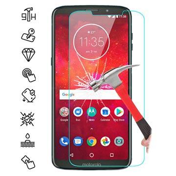 Motorola Moto Z3 Play Härdat Glas Skärmskydd - 9H, 0.3mm - Klar