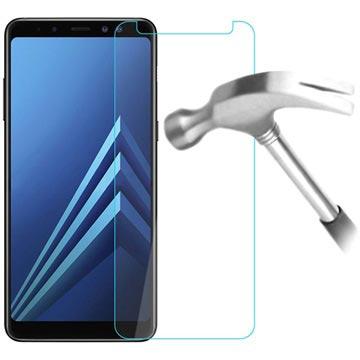 Samsung Galaxy A8+ (2018) Skärmskydd i Härdat Glas - Kristallklar