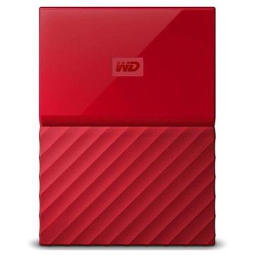 WD My Passport Extern Hårddisk WDBYFT0040BRD-WESN - 4TB - Röd