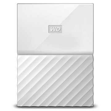 WD My Passport Extern Hårddisk WDBYFT0040BWT-WESN - 4TB - Vit