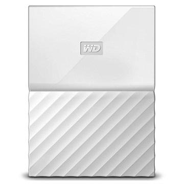 WD My Passport Extern Hårddisk WDBYNN0010BWT-WESN - 1TB - Vit