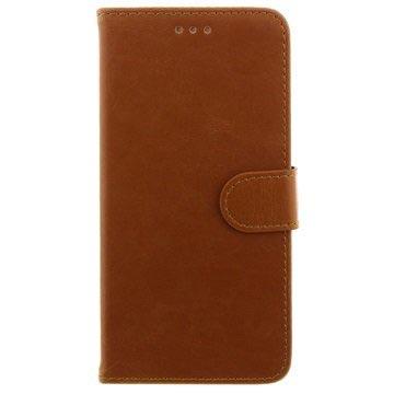 iPhone 6 Plus   6S Plus Plånbok Läder Fodral - Brun 34e380115c3b3