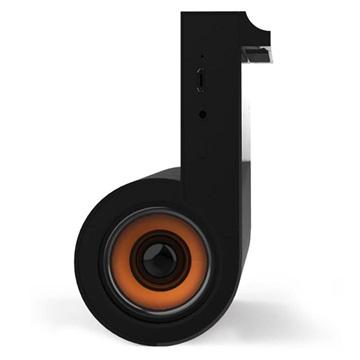Yogee YA666 2-i-1 Trådlös Laddare / Stereo Bluetooth Högtalare - Sv