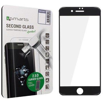 iPhone 7 4smarts Curved Glass Skärmskydd - Svart -PresentVaruhus f2aad350568f3