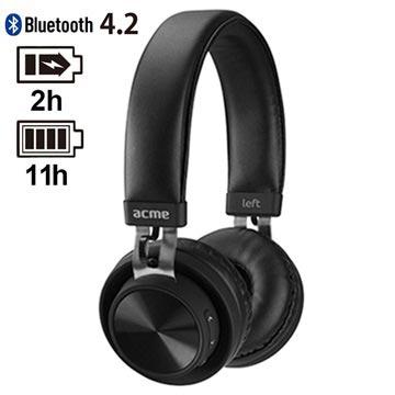 Acme BH203 Trådlösa Hörlurar – Bluetooth 4.2 – Svart 870f87ddba382