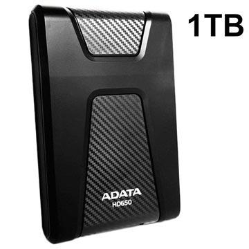 Adata HD650 USB 3.1 Extern Hårddisk - 2TB - Svart