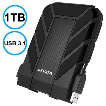 Adata HD710 Pro Vattentätt Extern Hårddisk - 1TB - Svart