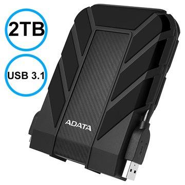 Adata HD710 Pro Vattentätt Extern Hårddisk - 2TB - Svart