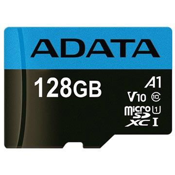 Adata Premier MicroSDXC UHS-I Minneskort AUSDX128GUICL10A1-RA1 - 128GB