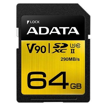 Adata Premier One SDXC UHS-II Minneskort ASDX64GUII3CL10-C - 64GB